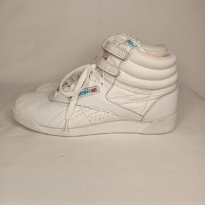 1980's REEBOK Classic Freestyle High-tops Sz 9
